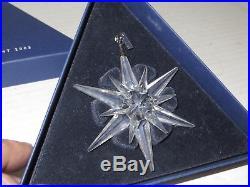 # Swarovski Crystal Christmas Ornament 2005 Snowflake #