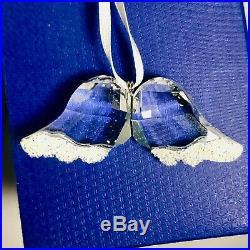 Swarovski Crystal Christmas Ornament ANGEL WINGS #5119875 Retired