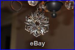 Swarovski Crystal Christmas Ornament Annual Edition 1999