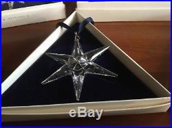 Swarovski Crystal Christmas Ornaments 1993-2000 Lot of 8