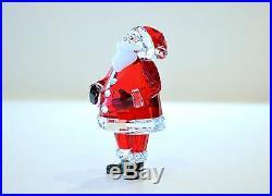 Swarovski Crystal Christmas Santa Claus Gift 5223620 Brand New In Box