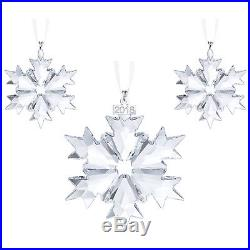Swarovski Crystal Christmas Set (Set of 3) Ornament 2018 5357983