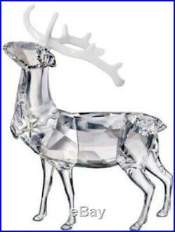 Swarovski Crystal Christmas Stag Decoration Figurine 1133076