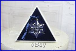Swarovski Crystal Christmas Star Ornament 2000 NIB