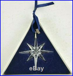 Swarovski Crystal Christmas Star/Snowflake Ornament 1995