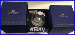 Swarovski Crystal Christmas Tree Ball Ornament Annual Edition 2013