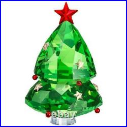 Swarovski Crystal Christmas Tree, Green Holiday Decoration Figurine 5464888