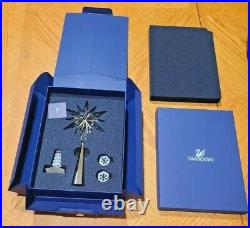 Swarovski Crystal Christmas Tree Topper Rockerfeller Shining Star 843215