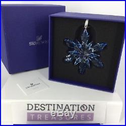 Swarovski Crystal Disney Frozen Snowflake Christmas Ornament NIB 5286457