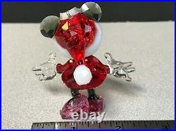 Swarovski Crystal Disney Minnie Mouse Christmas Ornament Figurine 5004687
