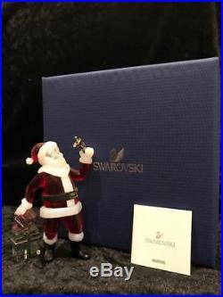 Swarovski Crystal Father Christmas Ornament, BNIB