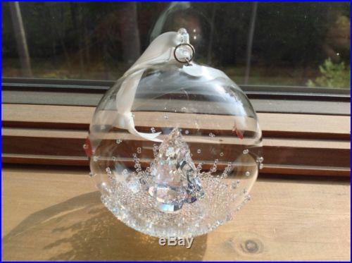 bd01aef1509c Swarovski Crystal Figurine ANNUAL EDITION 2013 Christmas Ball Ornament MIB