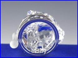 Swarovski Crystal Figurine Christmas Ornament 718989 KRIS BEAR DRUM Mint Box COA
