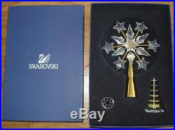 Swarovski Crystal Gold Christmas Tree Topper withBox - 6
