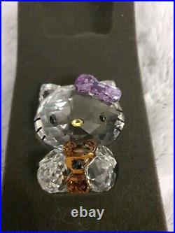 Swarovski Crystal Hello Kitty Ornament Figurine Boxed Nr 1096879