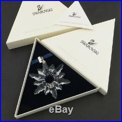 Swarovski Crystal Holiday Christmas Ornament 1998 A 9445 NR 980 001 withCOA & Box