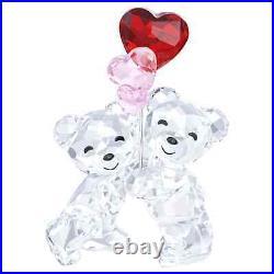 Swarovski Crystal Kris Bear Heart Balloons Decoration Figurine 5185778