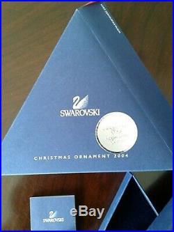 Swarovski Crystal Large Star Christmas Ornament 2004