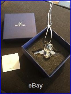 Swarovski Crystal Michael Christmas 2012 Angel Ornament #1140003