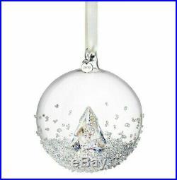 Swarovski Crystal Mint ANNUAL EDITION CHRISTMAS BALL ORNAMENT 2013 MIB 5004498