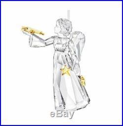 Swarovski Crystal Mint Christmas Angel Ornament Annual Edition 2010 Rare 1054562