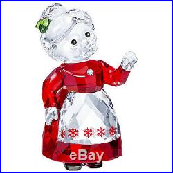 Swarovski Crystal Mrs. Claus Christmas Holiday Decoration Figurine 5464887