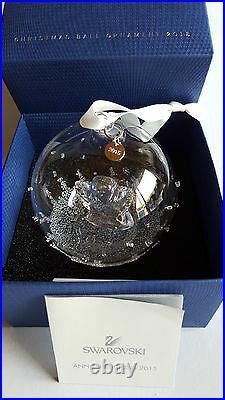 Swarovski Crystal, New 2015 Christmas Ball Ornament. Lim-Edition, Art No 5135821