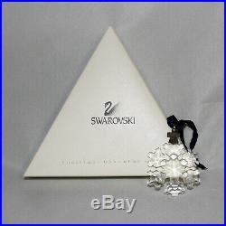 Swarovski Crystal Ornament 181632 ln box 1994 Christmas Snowflake