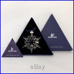 Swarovski Crystal Ornament 872200 no box Christmas Snowflake 2007