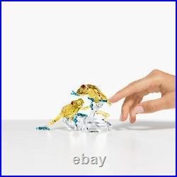 Swarovski Crystal Paradise Tropical Rainforest Frogs Figurine Decoration 5522680