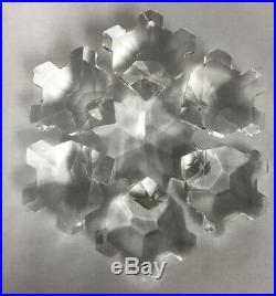 Swarovski Crystal Snowflake 1994 Christmas Ornament