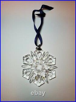 Swarovski Crystal Snowflake Christmas Ornament 1999