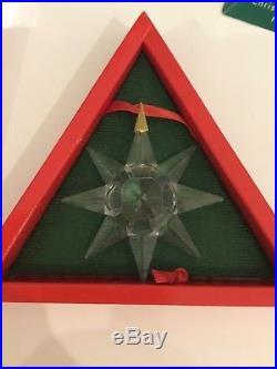 Swarovski Crystal Star 1991 Christmas Ornament Limited Edition