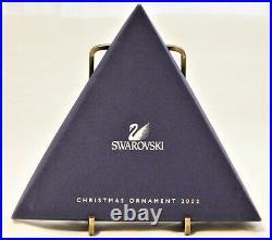Swarovski Crystal Star Ornament Christmas 2002