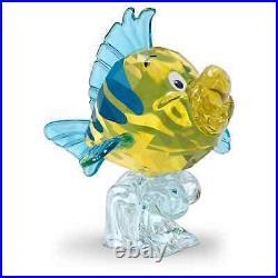 Swarovski Crystal The Little Mermaid Flounder Figurine Decoration 5552917