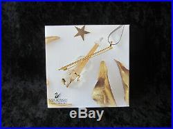 Swarovski Crystal Violin Christmas Ornament