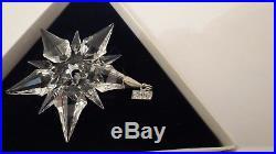 Swarovski Crystalsnowflake Christmas Ornament2001box & Paperslimited Ed
