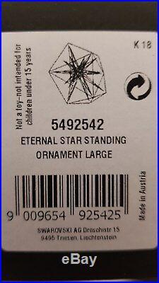 Swarovski, Daniel Libeskind Star Standing Ornament Large, L. E 100. Art No 5492542