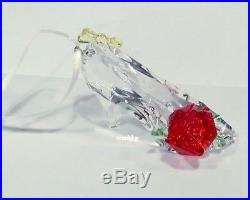 Swarovski Disney Belle Inspired Shoe Christmas Ornament Crystal MIB 5384696