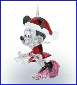 Swarovski Disney Christmas Minnie Mouse Ornament 5004687 Mint Boxed Retired Rare