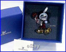 Swarovski Disney Mickey Mouse Christmas Ornament, Crystal Authentic MIB 5412847