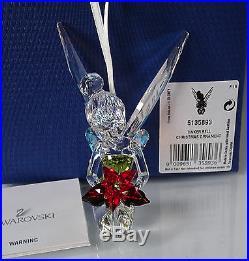 Swarovski Disney Tinkerbell Tinker Bell Christmas Ornament 5135893 New
