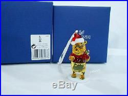 Swarovski Disney Winnie The Pooh Christmas Ornament Authentic MIB 5030561