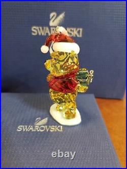 Swarovski Disney Winnie The Pooh Christmas Ornament Crystal 5030561 Retired