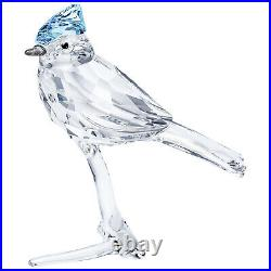 Swarovski Feathered Beauties Blue Jay on Crystal Branch Decoration 5470647