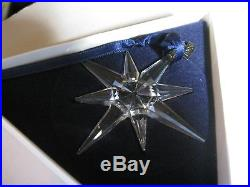 Swarovski Finest Austrian Crystal Holiday Christmas Ornament 1995 #194700