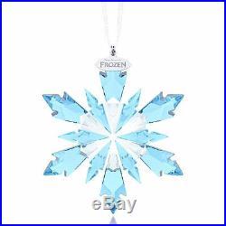 Swarovski Frozen Snowflake Ornament #5286457 Brand New In Box Blue X-mas Save$$