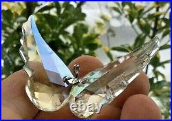 Swarovski HTF Christmas Angel Wings Very Rare Crystal Ornament NOS 5004494