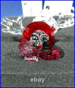 Swarovski Minnie Mouse Ornament, Christmas Disney Multi Cols Crystal NEW 5004687