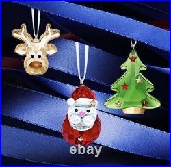 Swarovski NIB Gingerbread Reindeer Christmas Ornament Lmtd 2020 Edition #5533944
